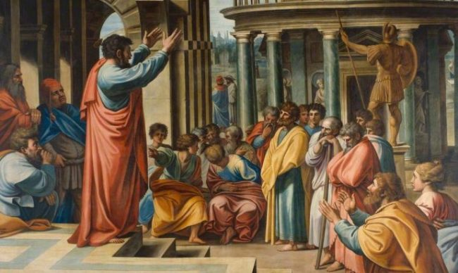 Thornhill, James, 1675/1676-1734; Paul Preaching in the Areopagus