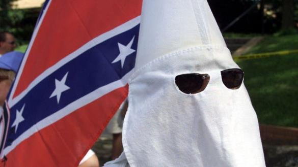 "This KKK member calls himself a ""misunderstood Christian""."